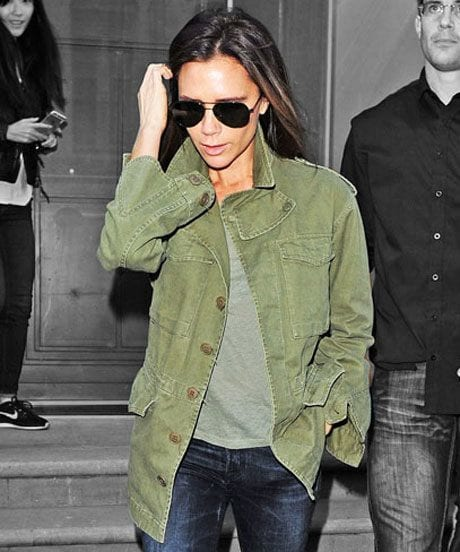 Celebrities Military Style outfit Ideas (4)