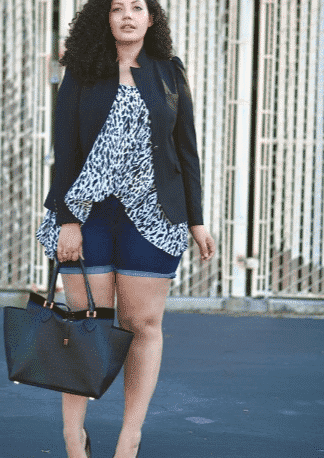 work outfits for plus size women