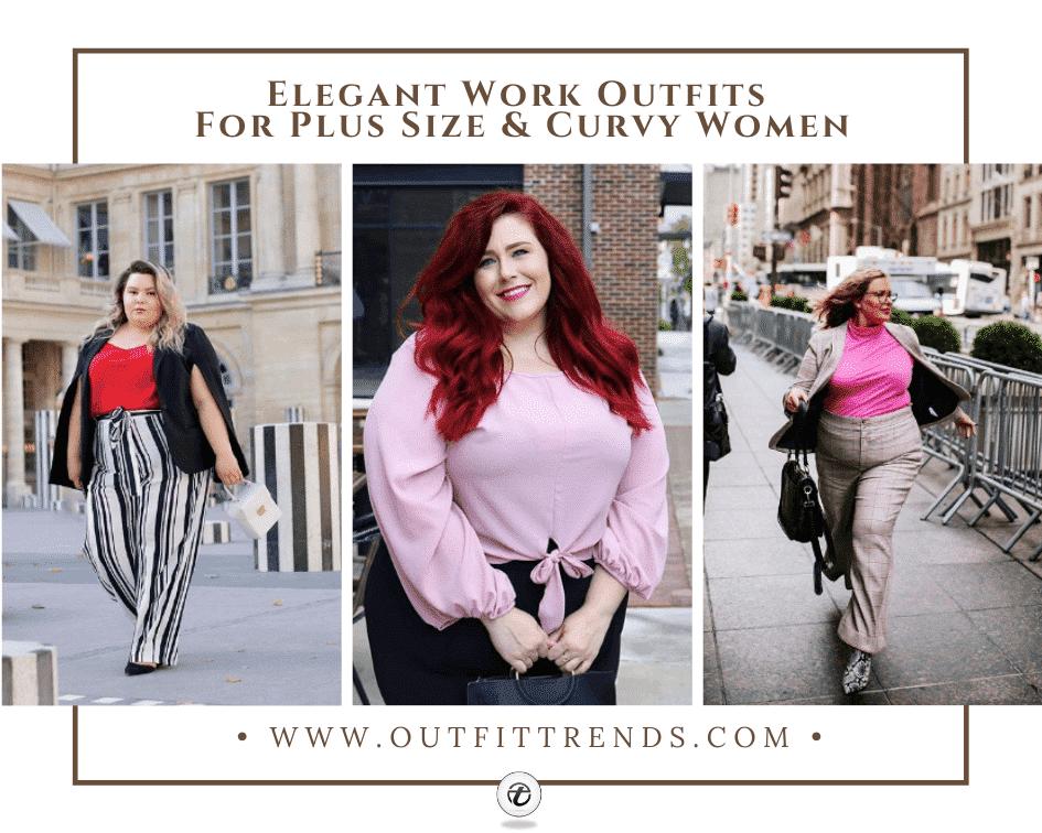 17 Elegant Plus Size Workwear Outfits & Combination Ideas