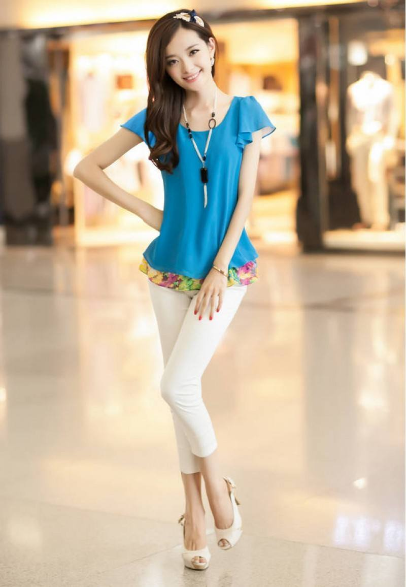 32c881c91e05 30 Cute Outfits for Short Height Girls To Look Tall