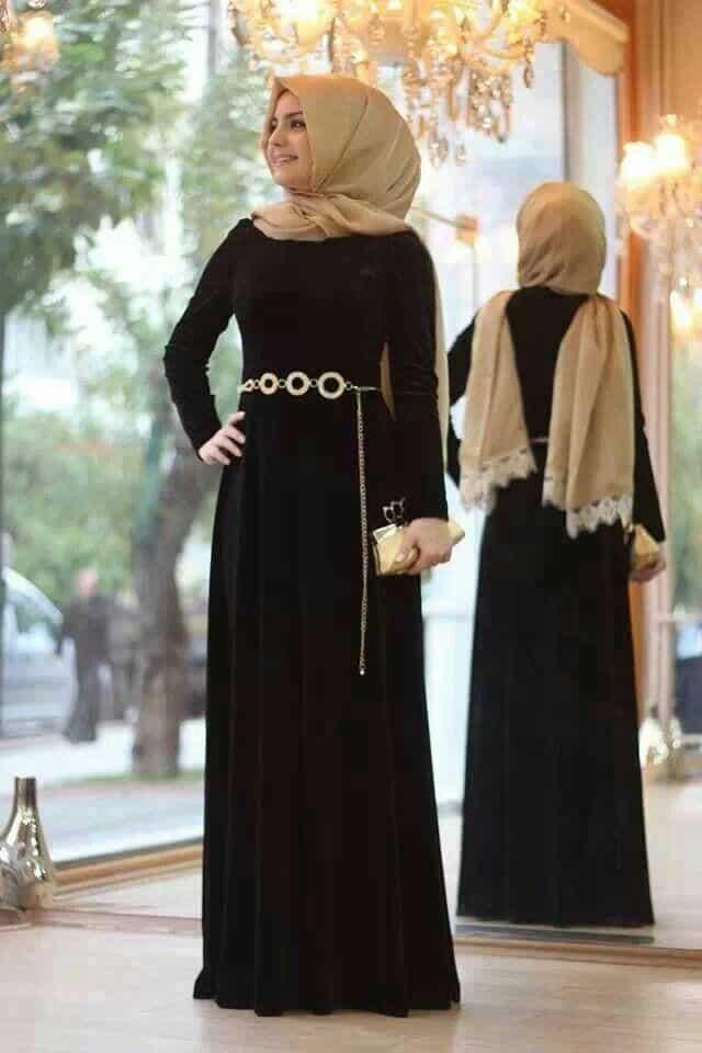 Silk Abaya Style