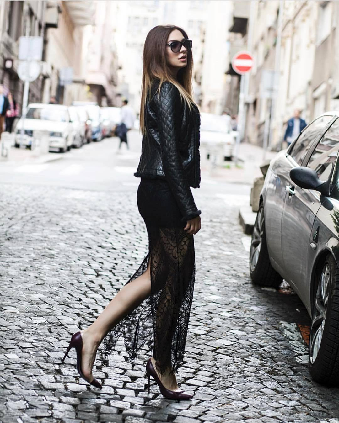 all black streets style