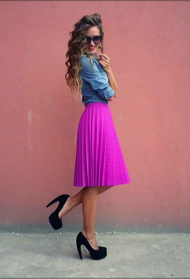 Midi Skirts Outfits 16 Cute Outfits To Wear With Midi Skirts