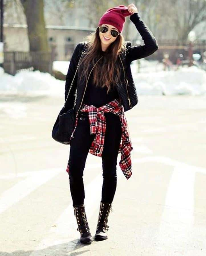 30 cute grunge fashion outfit ideas to try this season