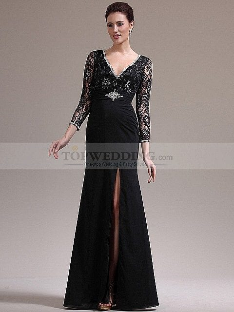 cute mother of bride Dresses (2)