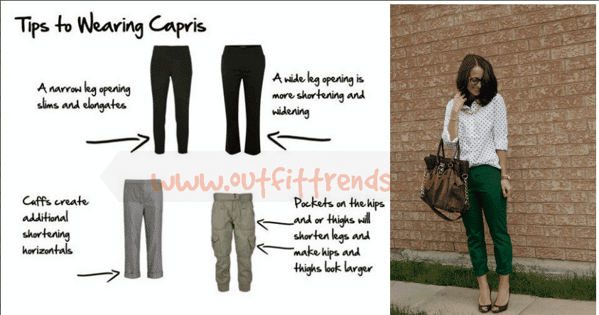 how to wear capri pants as short height girl (5)