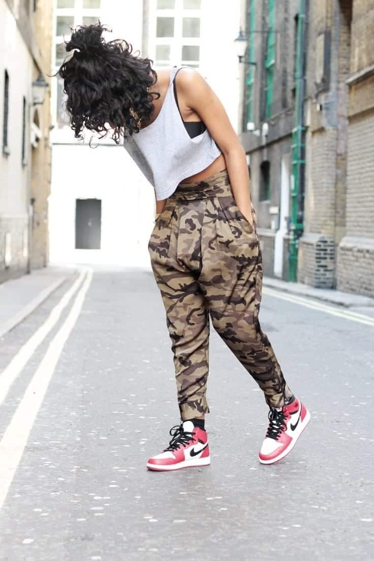 65260777b6a4c8 30 Cute Outfits Ideas to Wear with Jordans for Girls Swag