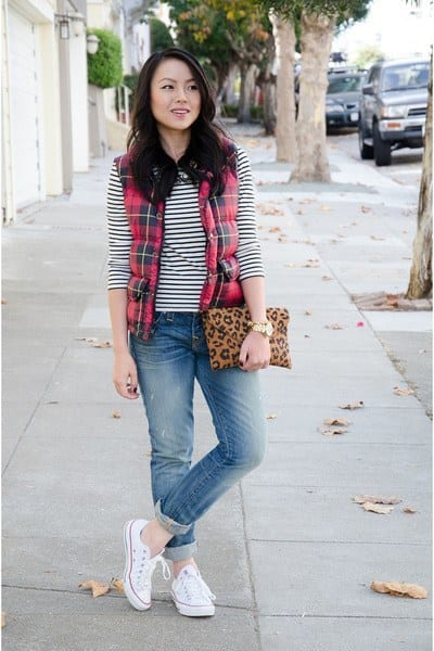 Flat Shoes With Boyfriend Jeans