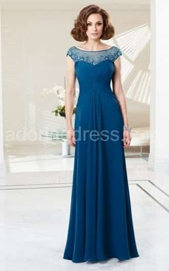 cute mother of bride Dresses (8)