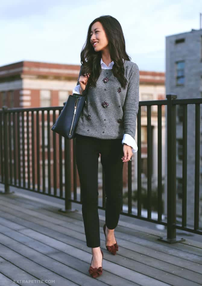 spring outfits for working women (10)