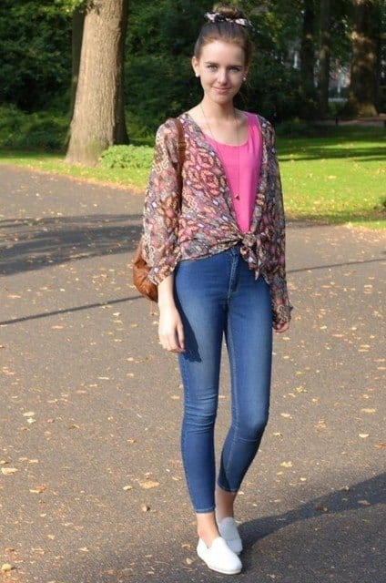 best shoes to wear with skinny jeans (17)