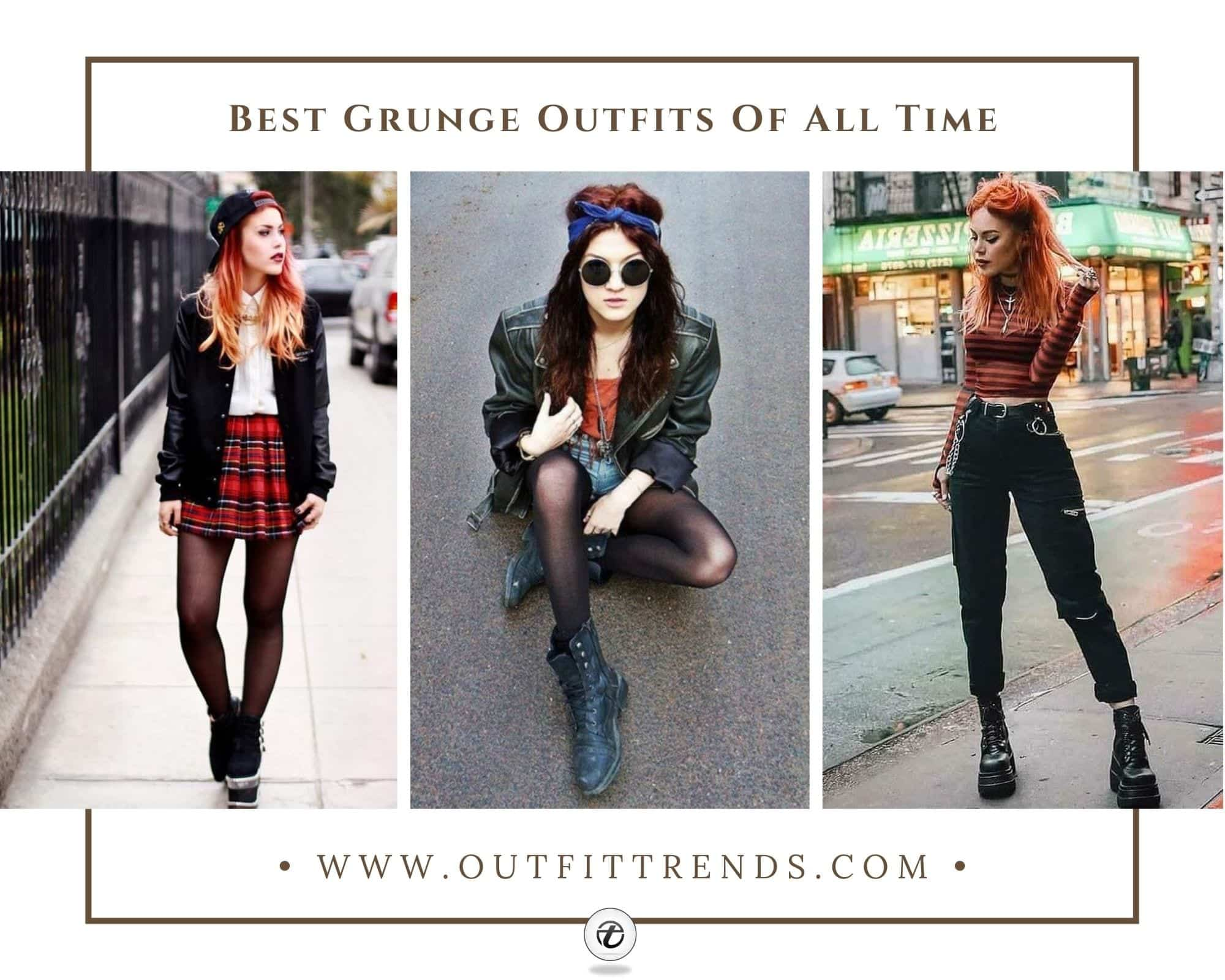30 Grunge Outfits for Girls To Try How to Dress Grunge