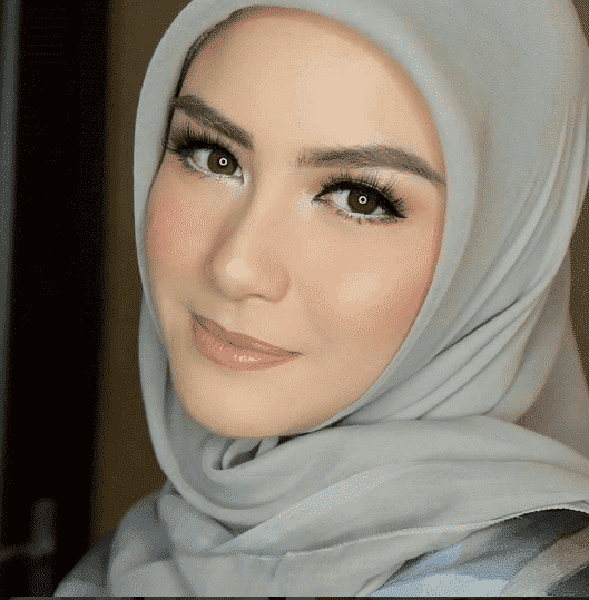 simple makeup with hijab tutorial and hijab makeup tips
