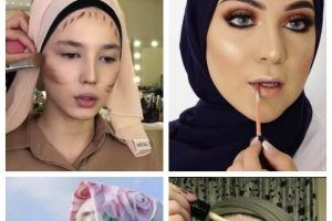 makeup ideas with hijab