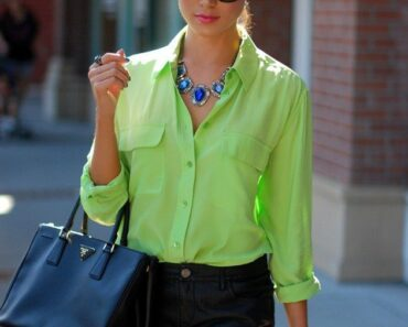 outfits to wear with statement necklace (3)