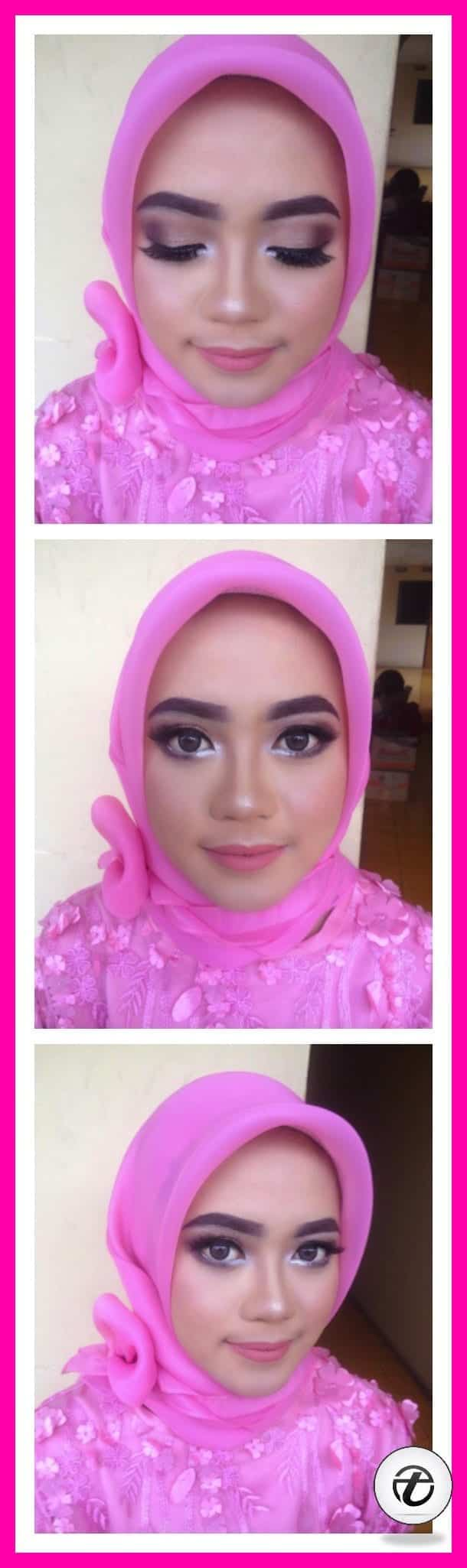 how to wear makeup with hijab