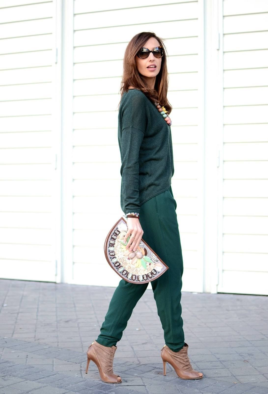Unusual Green Shoes Womens