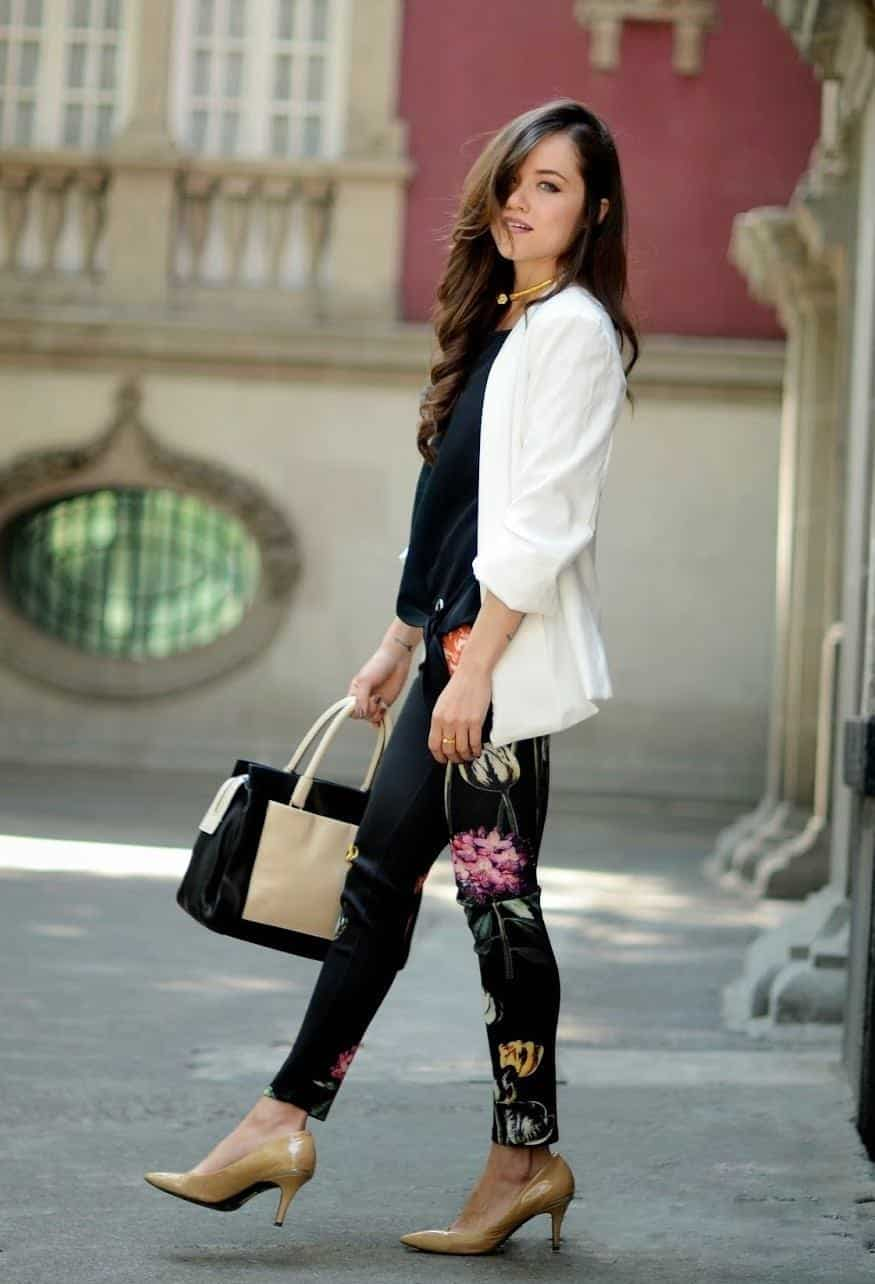 spring outfits for working women (4)
