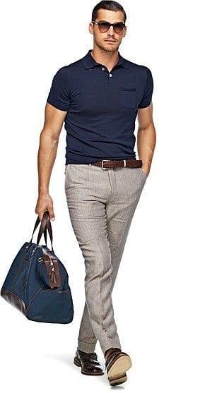Khaki Skinny Jeans Mens