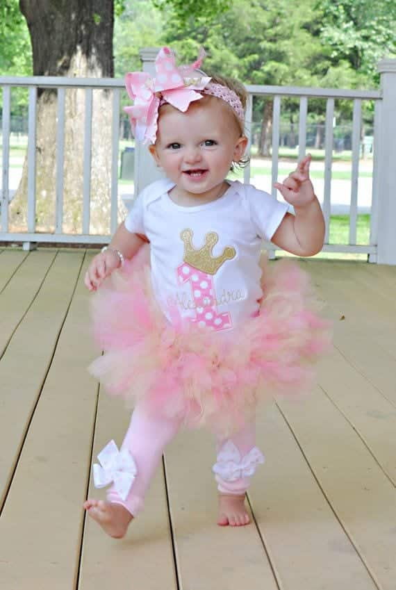 Baby Girl 1st Birthday Outfits 8