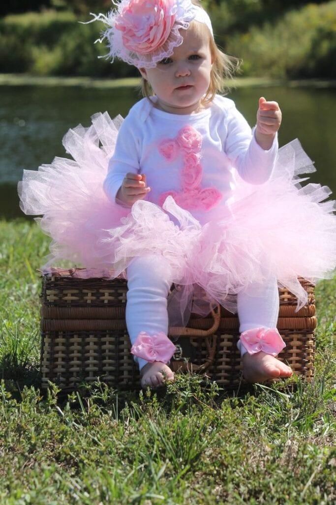 Baby Girl 1st Birthday Outfits 7