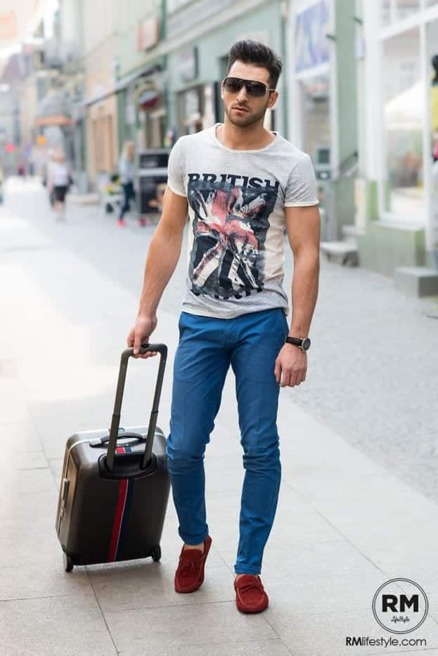 03c44c301680 15 Best Summer Travelling Outfit Ideas for Men -Travel Style