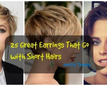 jewelry with short hairs
