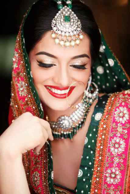 14 Cute Mehndi Makeup Styles And Ideas006