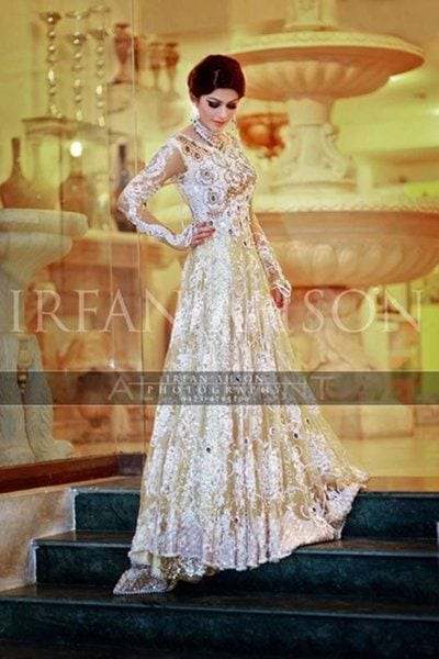 15 Latest Style Walima Bridal Dresses006