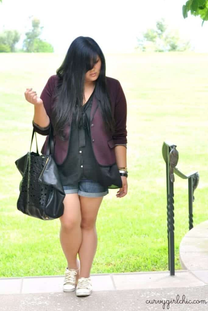 20 Stylish High School College Outfits For Curvy Girls