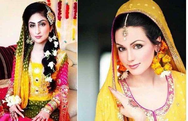 cute Bridal Mehndi Hairstyles (1)