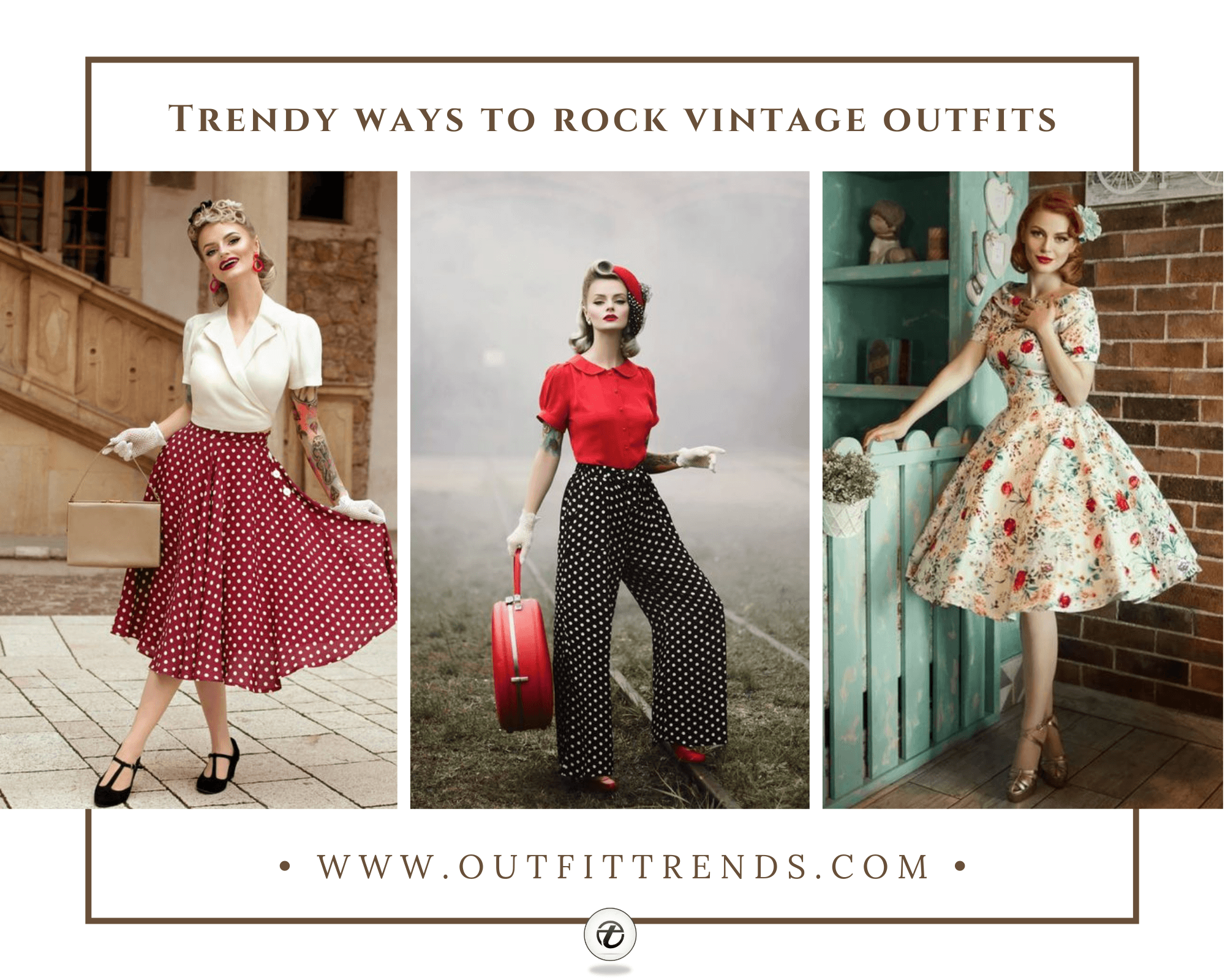 25 Best Ways to Style Vintage Outfits for Women