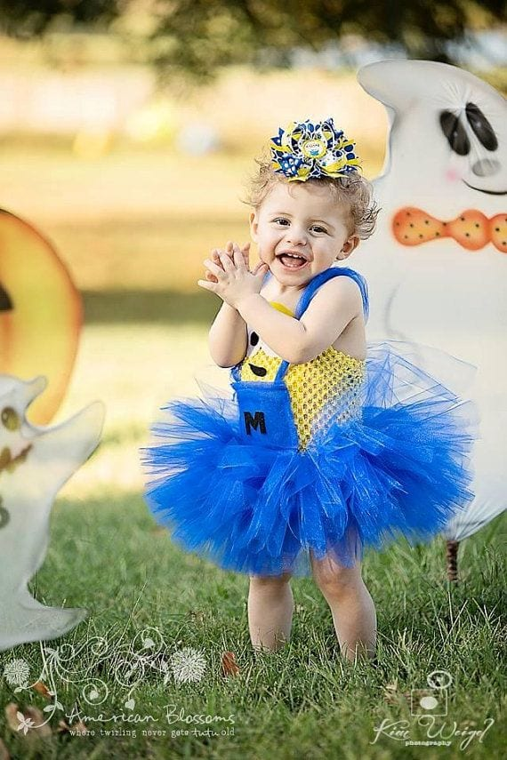 Super 12 Cute Minion Outfits for Babies/Toddlers You will Love UJ33