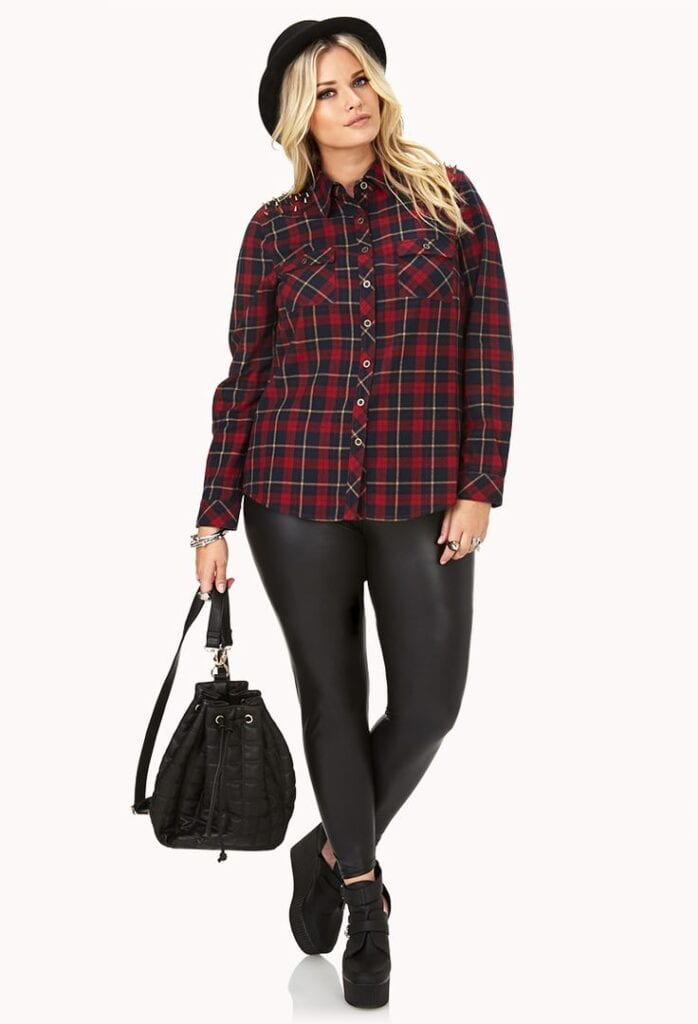 Plus size High School/ College Outfits (1)