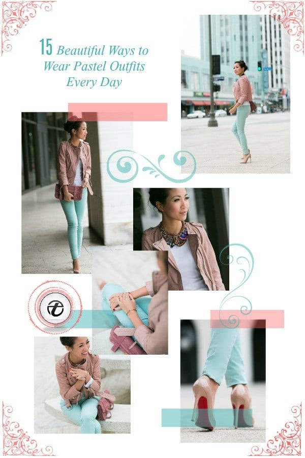 pastel outfits for women