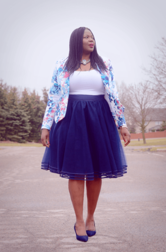 f5663b536f This length of skirt is ideal for plus size ladies. Not only do they allow  for a cheeky showing of skin but they come in such a vast collection ...
