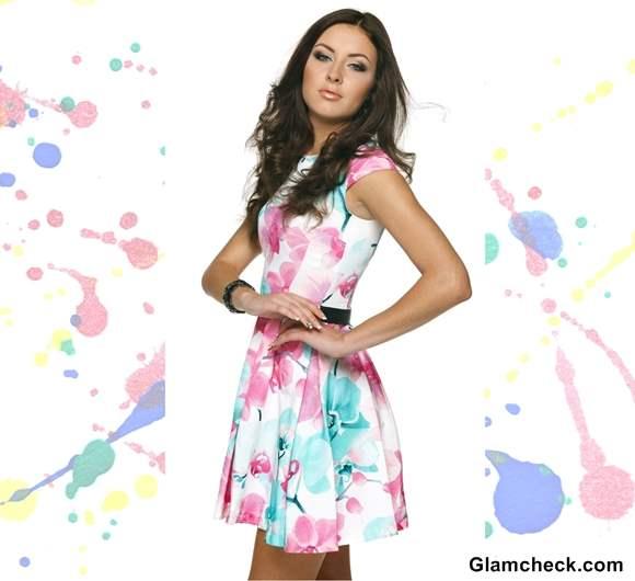 Holi-Dressing-tips-wearing-floral-printed-dress