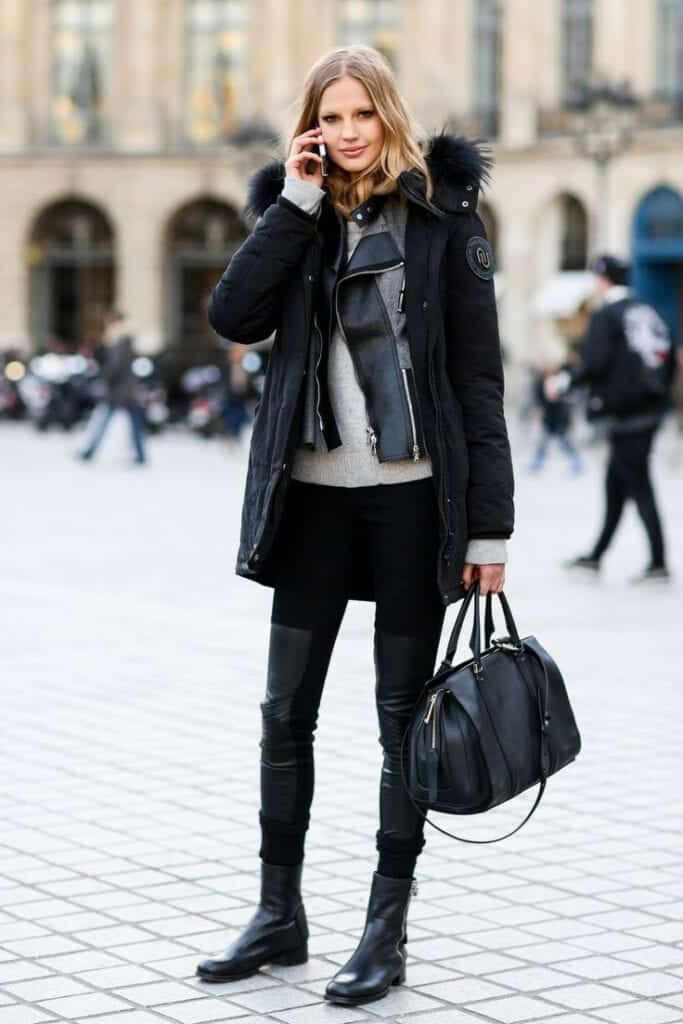 Winter style for tall girls