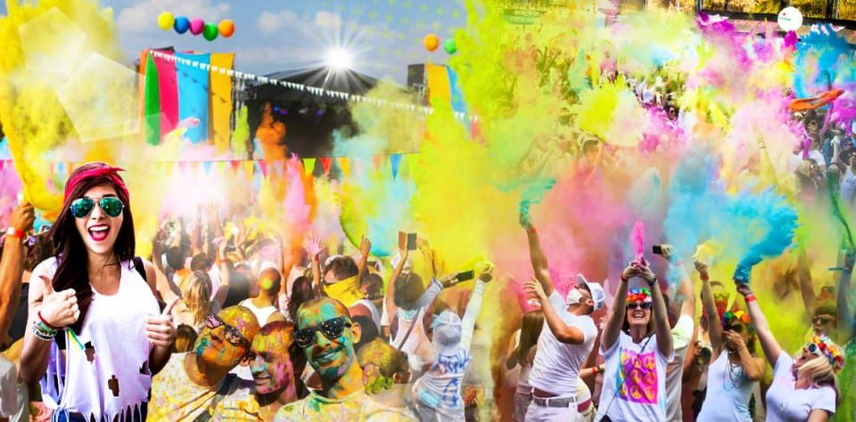 holi festival dressing ideas