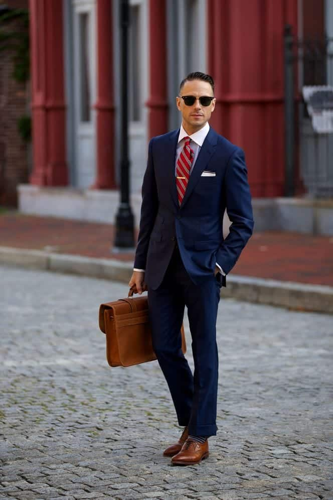 men formal apparel with oxford shoes