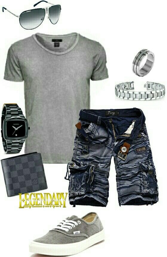 Mens Shirt and Jeans Combination