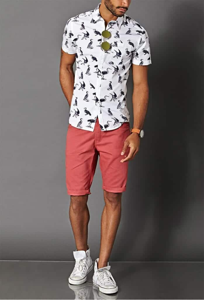 Stylish Outfits with Shorts for Men (10)