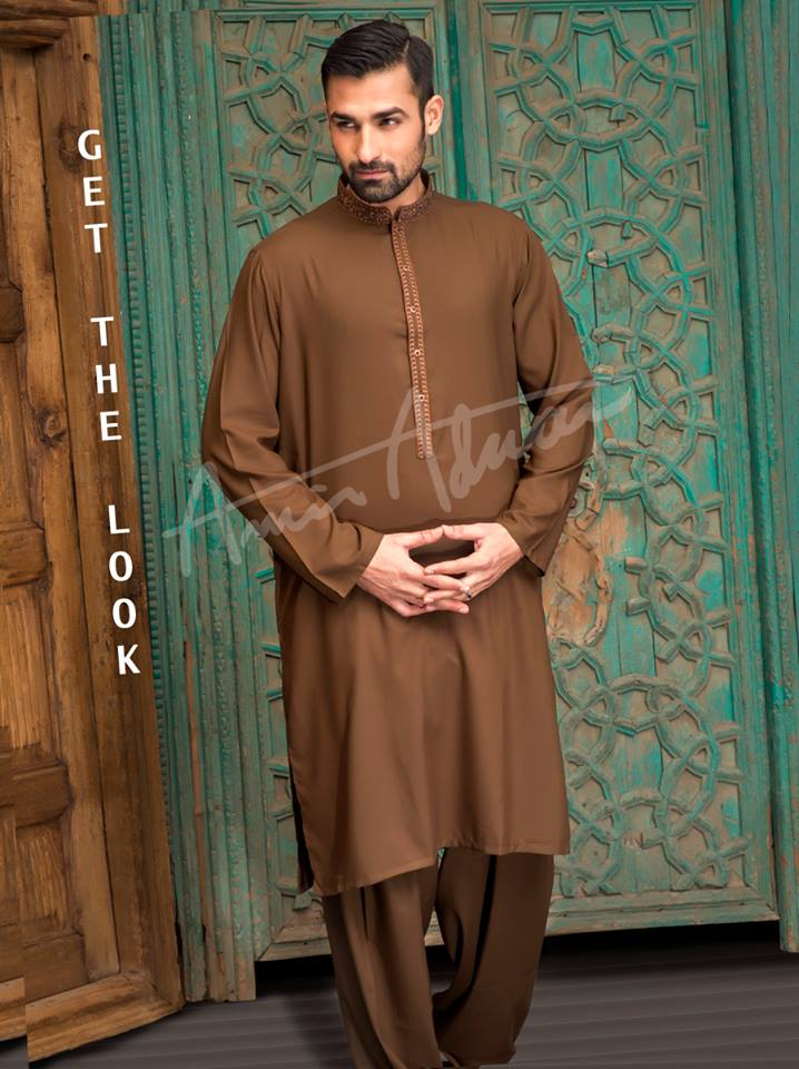 3201a18cd3 25 Latest Men's Eid Shalwar Kameez Designs For This Eid