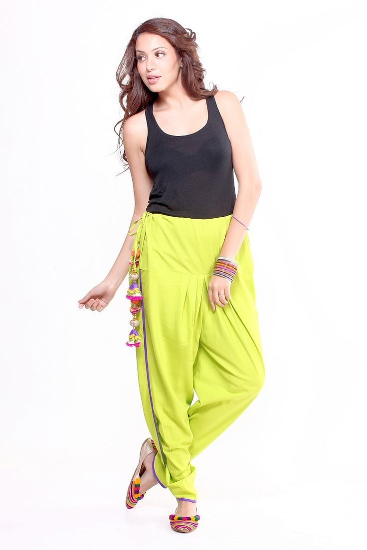 stylish dhoti pants outfit ideas (19)