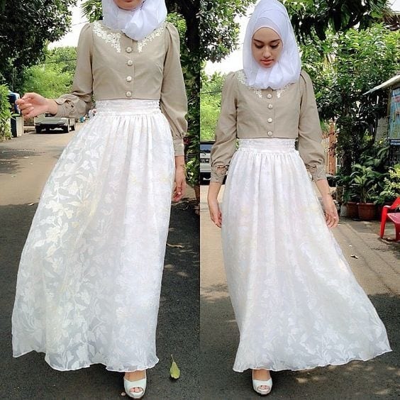 2016 eid hijab dress