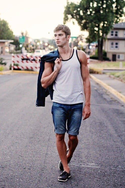 Stylish Outfits with Shorts for Men (12)