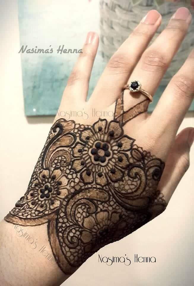 20 Cute Mehdni Designs For Hands