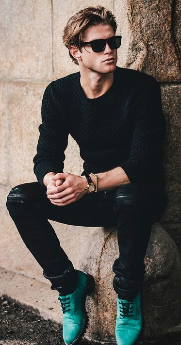 All Black Outfits Men 15 All Black Dressing Ideas For Guys