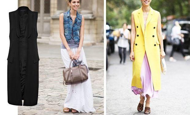 Sleeveless blazer outfits (15)
