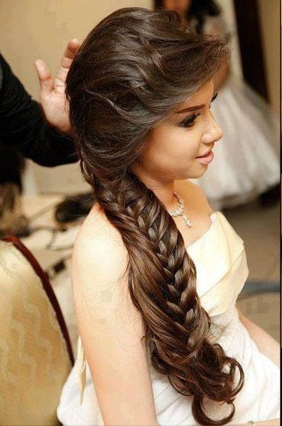 girls cute hairstyles for eid